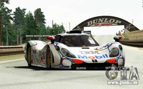 Porsche 911 GT1 1998 pour GTA 4 Vue arrière de la gauche