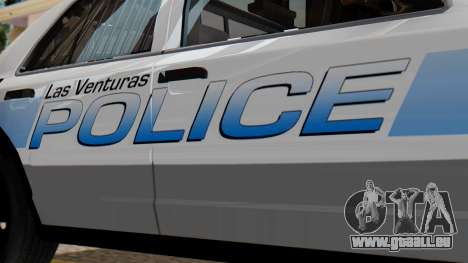 Police LV 2013 für GTA San Andreas rechten Ansicht