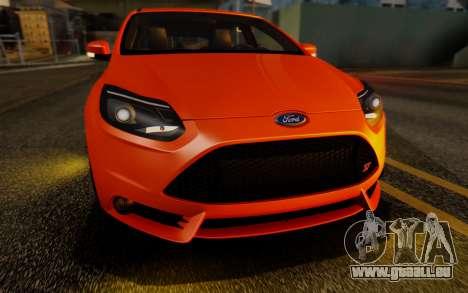 Ford Focus ST 2012 pour GTA San Andreas vue de côté