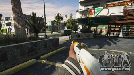 AK47 - Asiimov Edition pour GTA 5