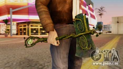 Nature Axe für GTA San Andreas dritten Screenshot
