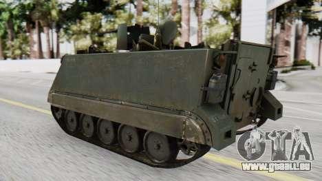 M113 from CoD BO2 pour GTA San Andreas laissé vue