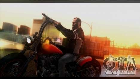 Saturation ENBSeries pour GTA San Andreas quatrième écran