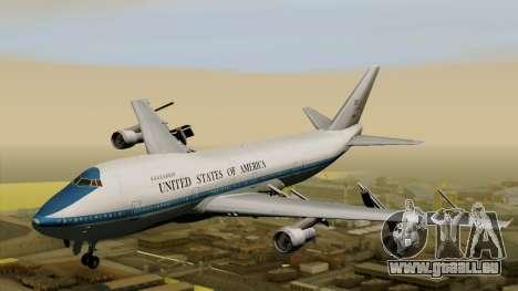 Boeing 747 E-4B für GTA San Andreas