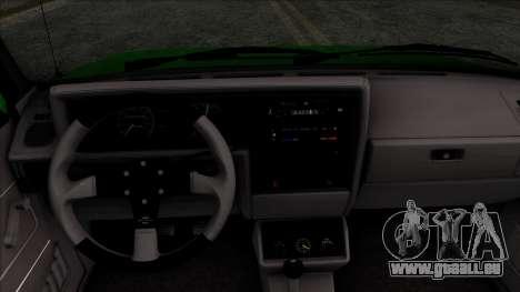 Volkswagen Golf Cabrio VR6 für GTA San Andreas rechten Ansicht