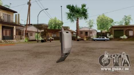 Original HD Cell Phone für GTA San Andreas zweiten Screenshot