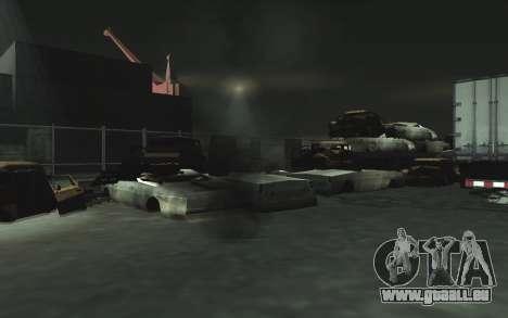 KFZ Schrottplatz v0.1 für GTA San Andreas zwölften Screenshot