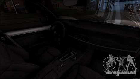 BMW X5 F15 BUFG Edition für GTA San Andreas obere Ansicht