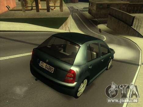 Skoda Fabia 2001 für GTA San Andreas zurück linke Ansicht