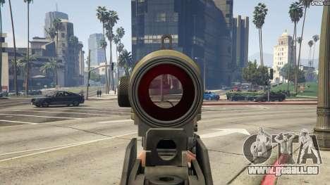 GTA 5 Battlefield 3 G36C v1.1 Siebter Screenshot