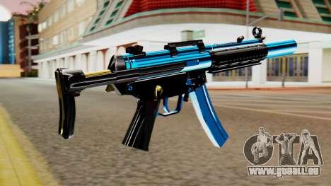 Fulmicotone MP5 für GTA San Andreas zweiten Screenshot