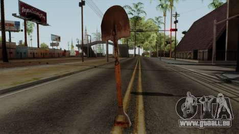 Original HD Shovel für GTA San Andreas zweiten Screenshot