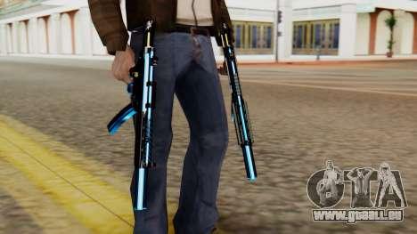 Fulmicotone MP5 pour GTA San Andreas troisième écran