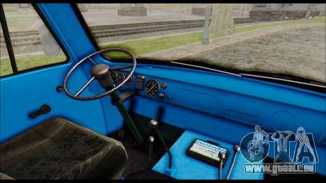 UAZ 2206 für GTA San Andreas rechten Ansicht