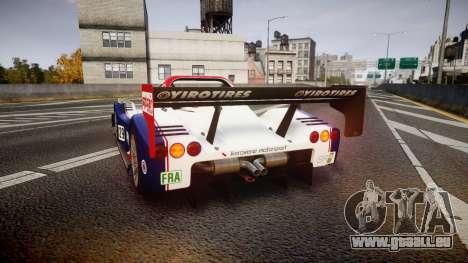 Radical SR8 RX 2011 [829] pour GTA 4 Vue arrière de la gauche