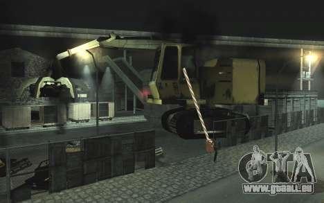 KFZ Schrottplatz v0.1 für GTA San Andreas zweiten Screenshot