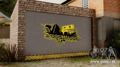La maison de CJ pour GTA San Andreas troisième écran