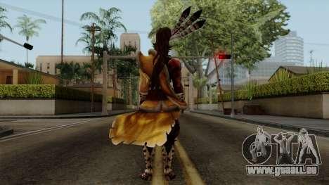 Sengoku Basara 3 - Maeda Keiji pour GTA San Andreas troisième écran