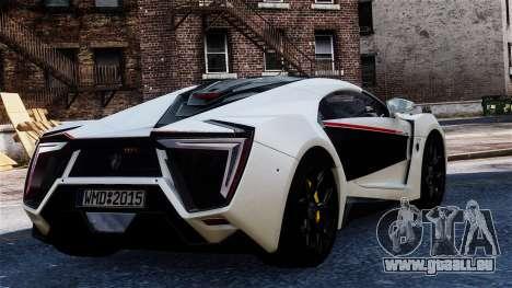 Lykan Hypersport 2015 EPM pour GTA 4 est une gauche