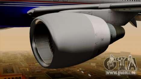 Boeing 757-200 (N757A) für GTA San Andreas rechten Ansicht
