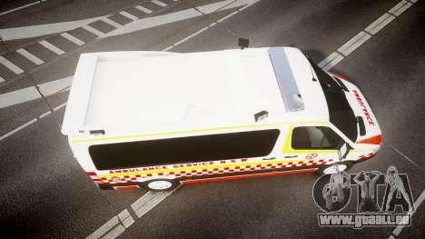 Mercedes-Benz Sprinter NSW Ambulance [ELS] pour GTA 4 est un droit