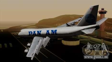 Boeing 747 PanAm pour GTA San Andreas laissé vue