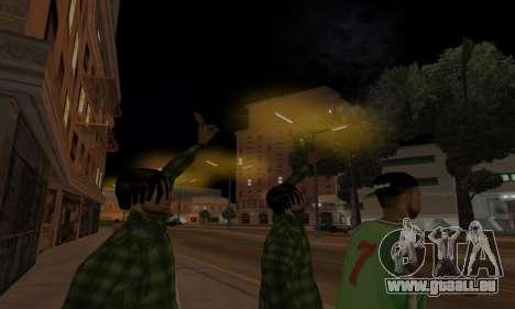 Lamppost Lights v3.0 pour GTA San Andreas cinquième écran