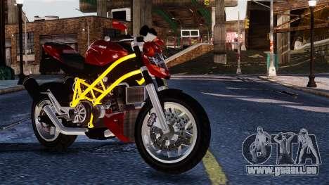 Principe Lectro from GTA 5 pour GTA 4 Vue arrière