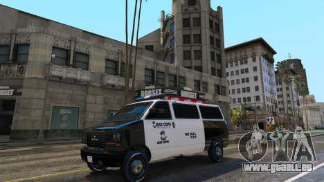 GTA 5 Bad Cops LSPD Livery 1.1 dritten Screenshot