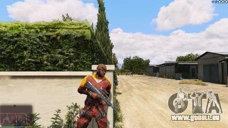 GTA 5 Farnsworths Assassinations and Bodyguards 0.81 quatrième capture d'écran