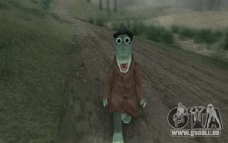 Krokodil Gena für GTA San Andreas dritten Screenshot