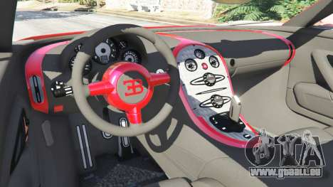 Bugatti Veyron Grand Sport für GTA 5