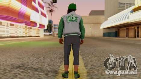 [GTA5] Fam Girl pour GTA San Andreas troisième écran