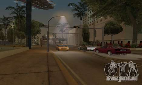 Lamppost Lights v3.0 pour GTA San Andreas