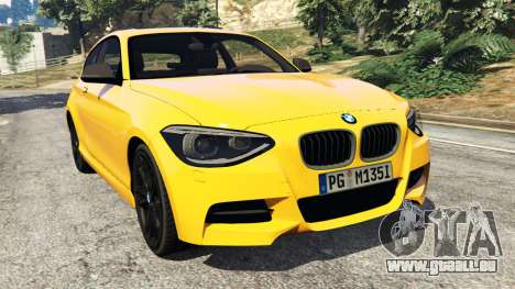 BMW M135i (F21) 2013 pour GTA 5