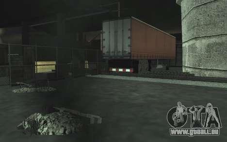 KFZ Schrottplatz v0.1 für GTA San Andreas
