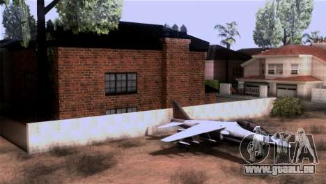 CJs New Brick House für GTA San Andreas dritten Screenshot