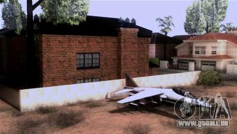 CJs New Brick House pour GTA San Andreas troisième écran
