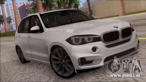 BMW X5 F15 BUFG Edition für GTA San Andreas