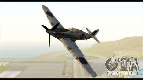 Hawker Hurricane MK IA pour GTA San Andreas