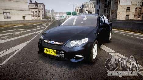 Ford Falcon FG XR6 Unmarked NSW Police [ELS] für GTA 4