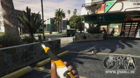 AK47 - Asiimov Edition für GTA 5