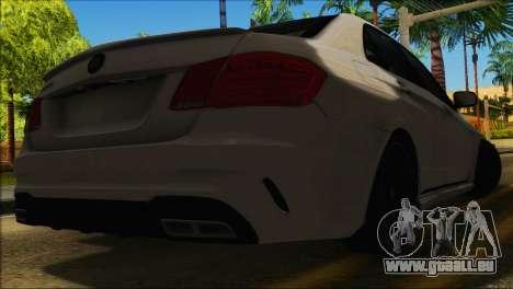 Mercedes-Benz E63 Brabus BUFG Edition pour GTA San Andreas vue intérieure