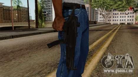 Original HD MP5 pour GTA San Andreas troisième écran
