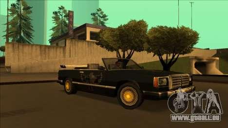 FreeShow Feltzer pour GTA San Andreas vue de dessus