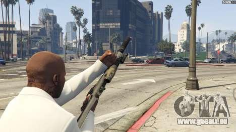 GTA 5 Battlefield 3 G36C v1.1 vierten Screenshot
