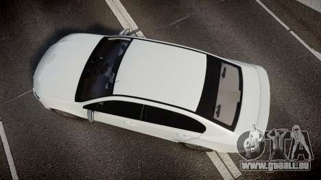 Ford Falcon FG XR6 Turbo Unmarked Police [ELS] für GTA 4 rechte Ansicht