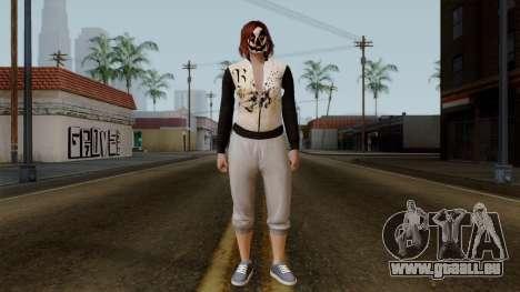 GTA 5 Online Female01 pour GTA San Andreas deuxième écran