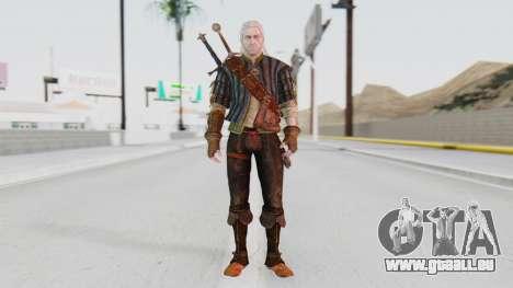 [The Witcher] Geralt pour GTA San Andreas deuxième écran