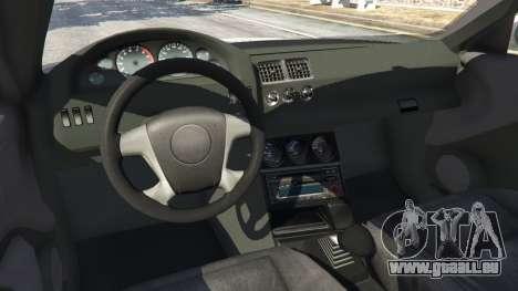 BMW M3 GTR E46 PJ1 pour GTA 5